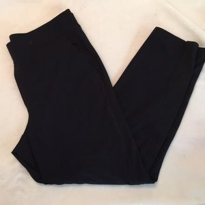Athleta Black Brooklyn Ankle Pants size 10 EEUC